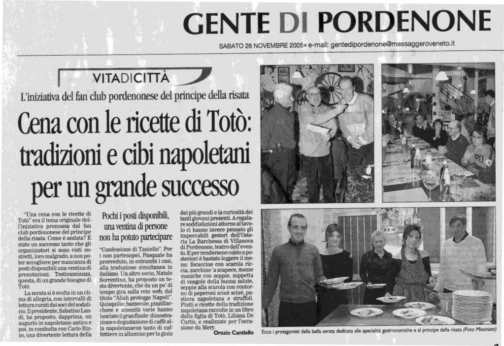 Tot news 2005 tutte le manifestazioni e gli eventi for Mercatone zeta