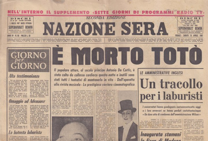 spesso Totò biografia: i funerali di Totò JV45